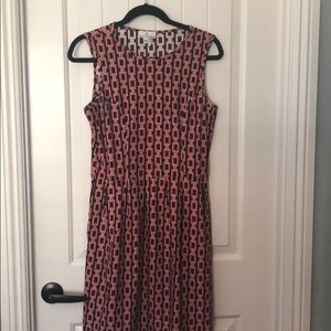 Jude Connally Rachael dress in links expresso